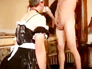 Sissy Husband Sucks Cock For Wife bdsm bondage slave femdom domination