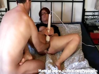 fisting my wifes cunt while she masturbates