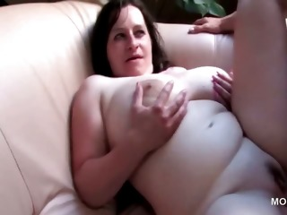 Mature BBW attending orgy takes shaft in cunt