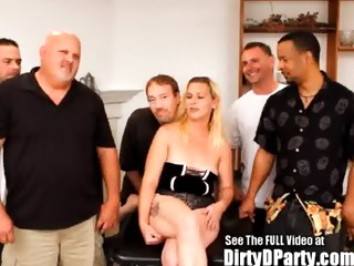 first dirty d party for this mom whore!